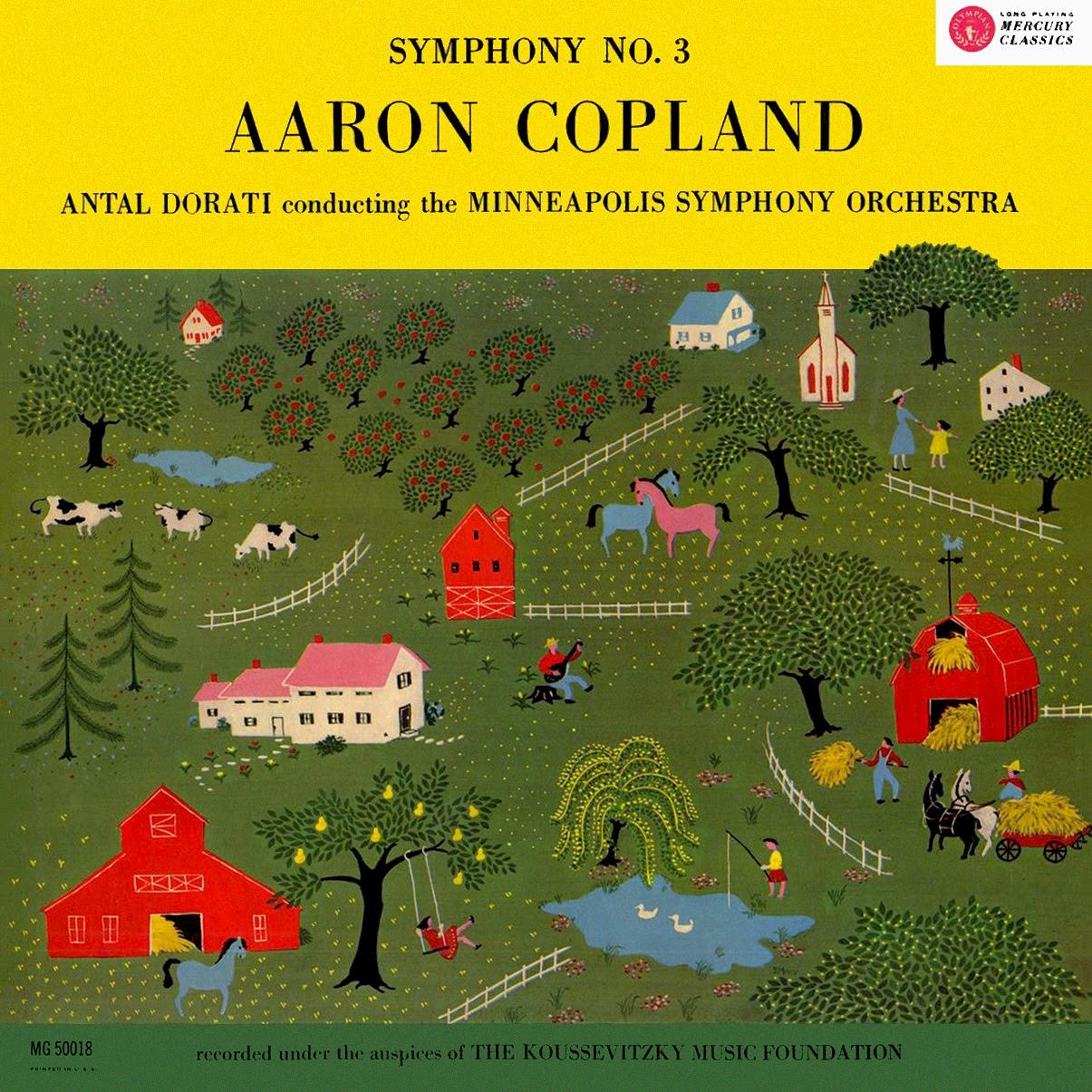 Aaron Copland, Antal Doráti