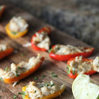 Crab Stuffed Peppers.