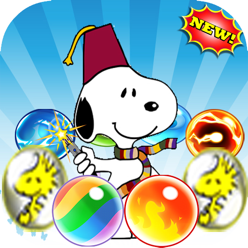 Bubble snoopy Shooter pop