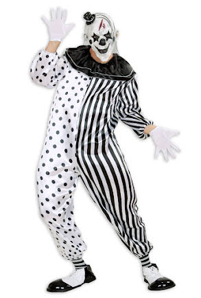 Dräkt, Killer Pierrot Clown