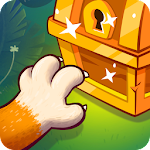 Cute Cat Merge & Collect: Lost Relic Hunt Game Icon