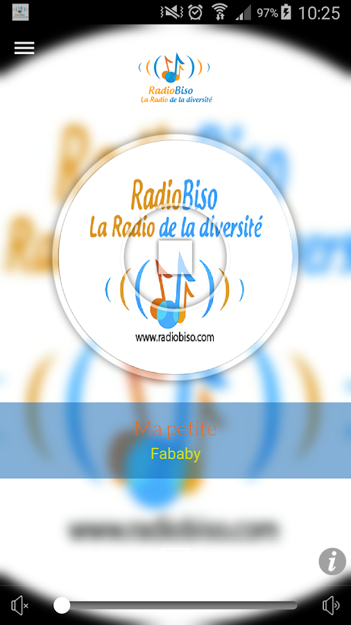 RadioBiso- screenshot