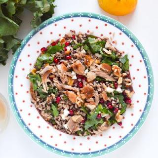 Winter Brown Rice and Quinoa Salad with Lemon Maple Vinaigrette Recipe