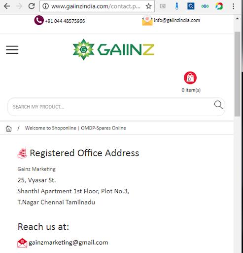 gaiinzindia marketing screenshot 3
