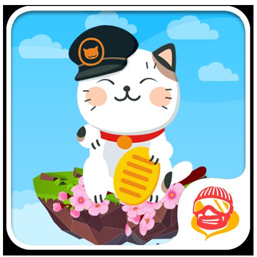 Tap Tap Kitty Cat: Cube Jumping Kitten Game