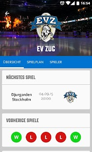 EV Zug- screenshot thumbnail