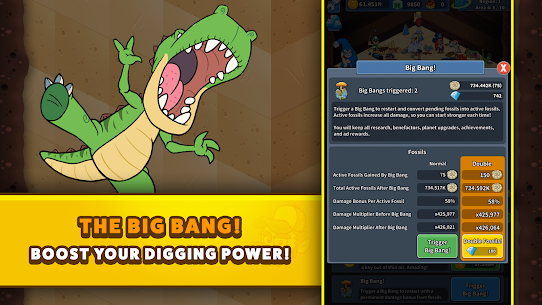 Tap Tap Dig 2: Idle Mine Sim  Apk Download For Android and Iphone 8
