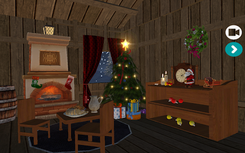 Interactive Christmas 3D HD Live Wallpaper Screenshot