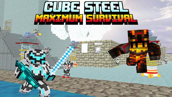 Cube Steel: Maximum Survival - náhled