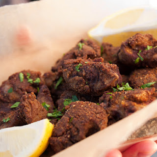 Crispy Spiced Chicken Livers