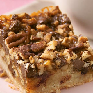 Ooey-Gooey Turtle Bars Recipe