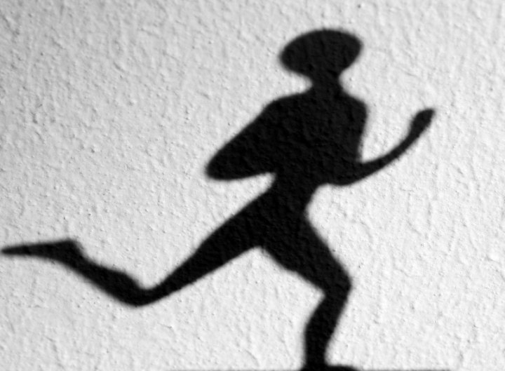 L'ombra del podista di paolo-spagg