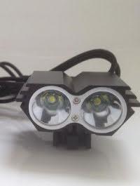 Pannlampa/Cykellyse/Hjälmlampa Model X2