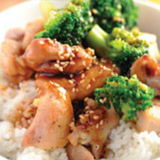 Chicken Teriyaki Rice Bowl.