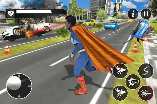 Black Rope Hero Vegas Mafia Superhero Crime Battle screenshot 2
