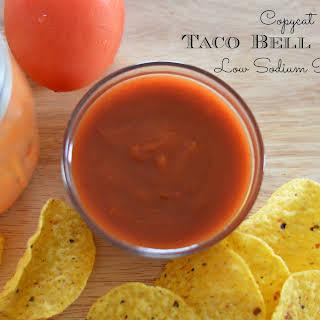 Copycat Taco Bell Sauce.