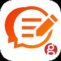 goo blog 簡単ブログ作成のグーブログで日記ブログも趣味のブログ投稿も初心者に安心の人気ブログ icon