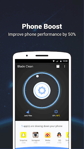 Blade Clean - boost, clean & app lock for PC