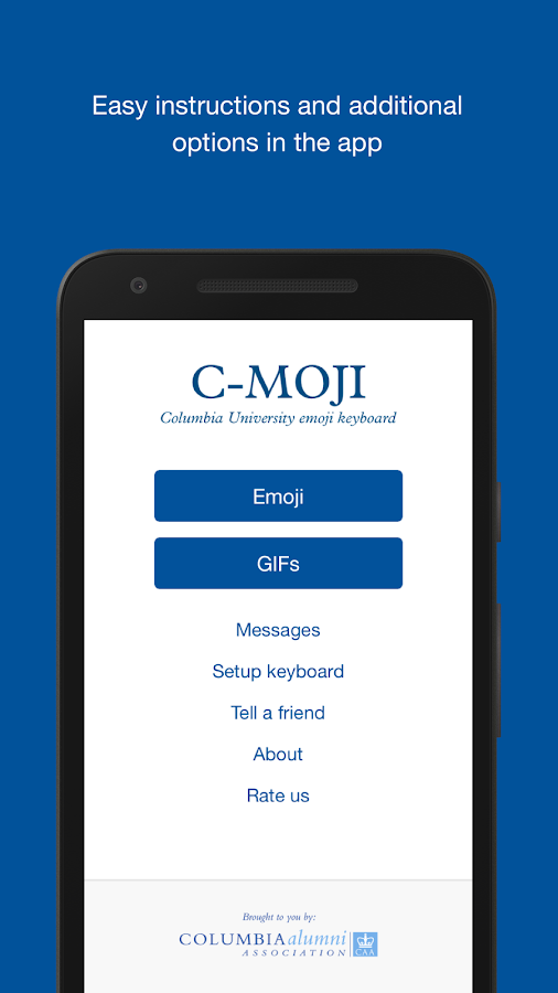 C-moji by Columbia University- screenshot
