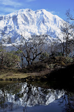 Photo: Au-dessus de Chomro Dharmasala (Dudh Pokhari)