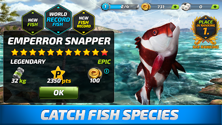 Fishing Clash: Catching Fish Game. Bass Hunting 3D APK screenshot thumbnail 4