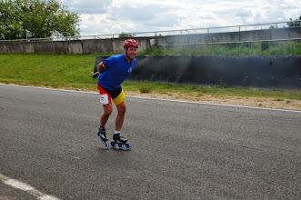 Photo: Les 3 roues en montée ça fonctionne bien pour Jean-Claude ...