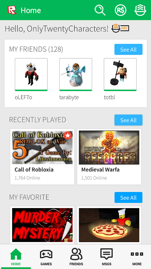 ROBLOX - screenshot