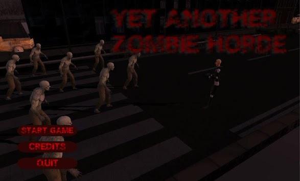 Yet Another Zombie Horde apk screenshot