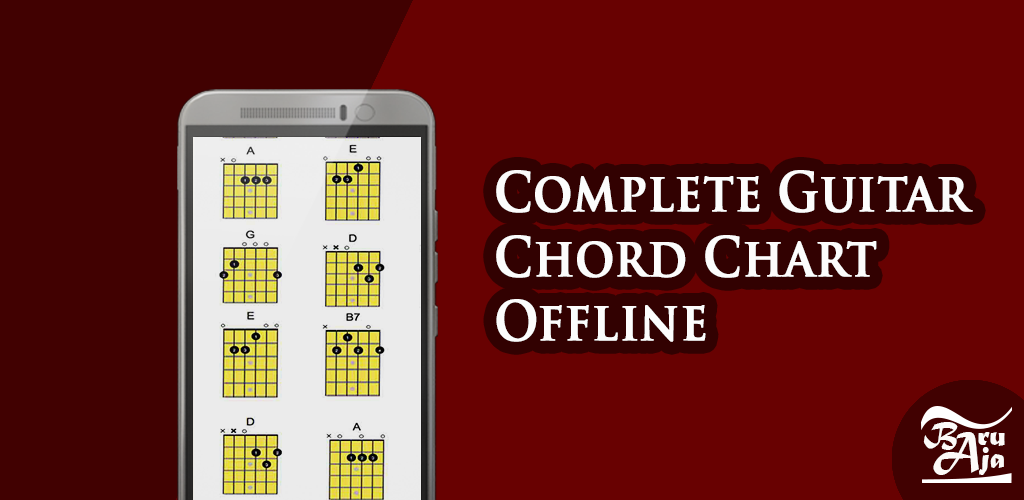 Download Complete Guitar Chord Chart Offline By Baruaja Apk Latest