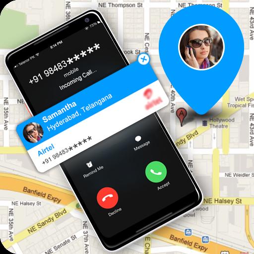 Rastreador de ubicación de número móvil