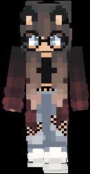 Wolf Girl Nova Skin