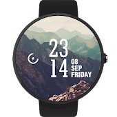 Mountains WatchFace Android