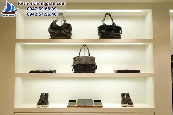 thiết kế cửa hàng thời trang nam chất lượng cao