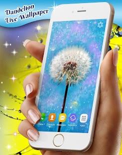 Dandelions Live Wallpaper - náhled