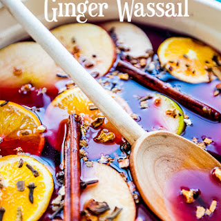 Non Alcoholic Ginger Wassail.