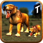 Adventures of Sabertooth Tiger Icon