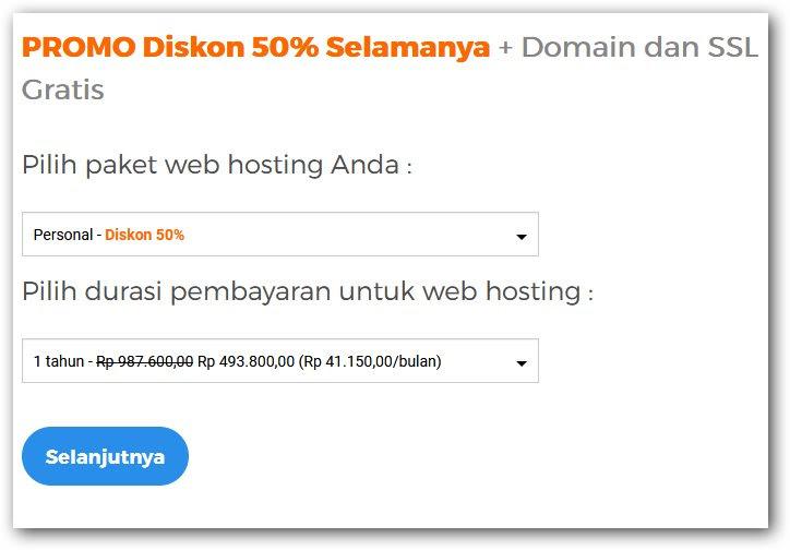 Cara mendapatkan Domain gratis dari niagahoster
