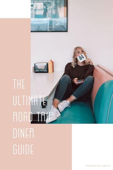 Road Trip Diner Guide - Pinterest Pin Template