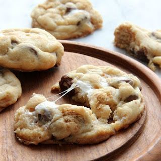 Perfect S'more Cookies.