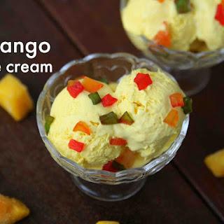 Mango Ice Cream Recipe | How to Make Homemade Mango Ice Cream Recipe