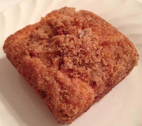 Flourless Applesauce Oatmeal Snack Cake
