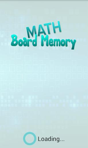 Math Board Memory