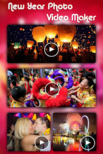 New Year Video Maker-New Year Photo Video Maker - náhled