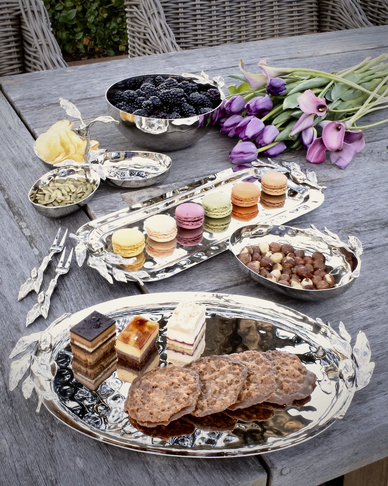 platters and trays by carmel ceramica