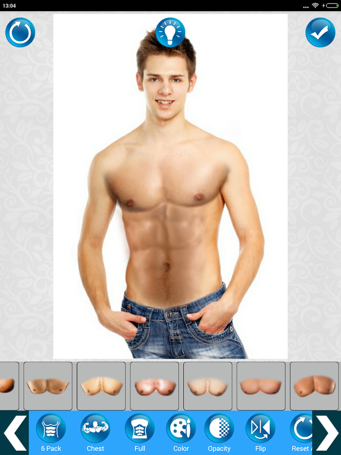 Make six pack photo 6 abs body android apps on google play make six pack photo 6 abs body screenshot ccuart Image collections