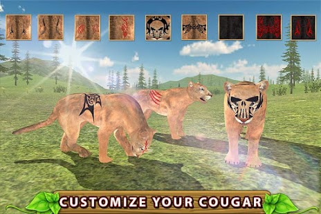 Furious Cougar Simulator- screenshot thumbnail