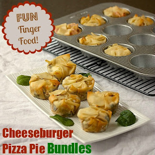 Cheeseburger Pizza Pie Bundles