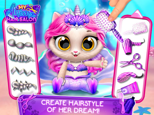 My Animal Hair Salon - Style, Create & Experiment 5.0.8 screenshots 10