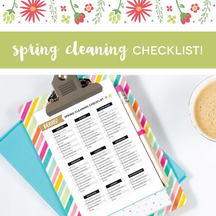 Clip board with a checklist on it.