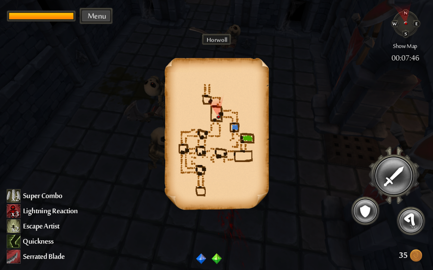 TinyKeep- screenshot